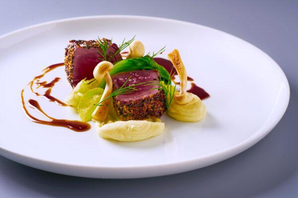 Essen gehobene Küche
