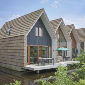 Urlaub im Grünen: 8 Tage im Wasser-Ferienhaus in den Niederlanden ab 87€ p.P.