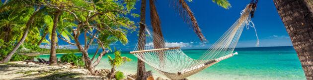 Fidschi Inseln Hängematte Panorama