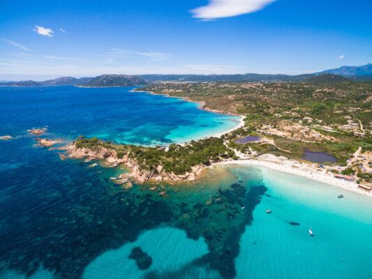 Frankreich Korsika Palombaggia Überblick