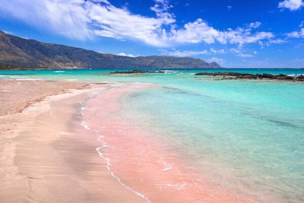 Griechenland Kreta Elafonissi Pink Sand