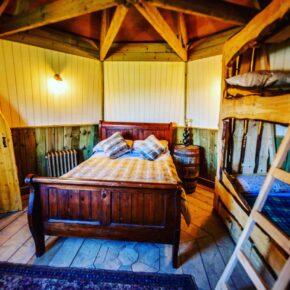 Ground Keepers Cottage Schlafzimmer