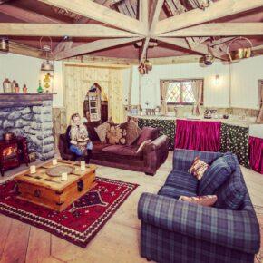 Ground Keepers Cottage Wohnzimmer