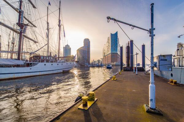 Hamburg Hafen Schiff Wasser