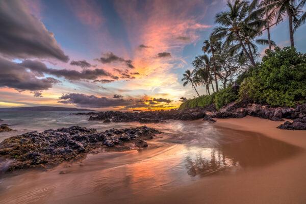 Hawaii Lanai Sonnenuntergang