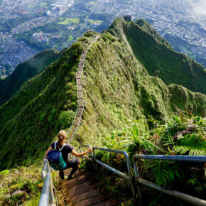 Hawaii Oahu Stairway To Heaven