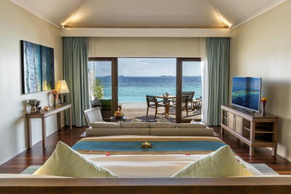 Hurawalhi Resort Schlafzimmer