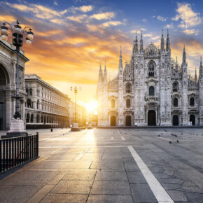 Wochenende in Italien: 3 Tage in Mailand im TOP 4* Hotel & Flug nur 91€
