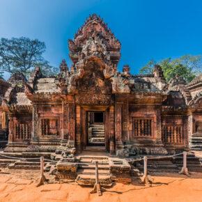 Kambodscha Banteay Srei Tempel