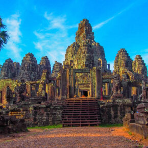Kambodscha Bayon Tempel