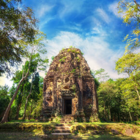Kambodscha Khmer Tempel Sambor Prei Kuk