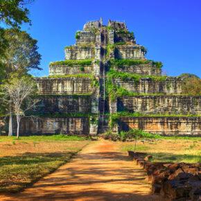 Kambodscha Koh Ker Tempel