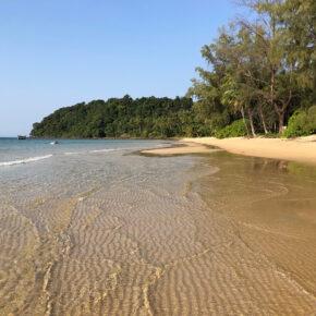 Kambodscha Lonely Beach