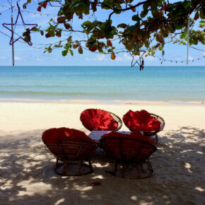 Kambodscha Ochheuteal Beach