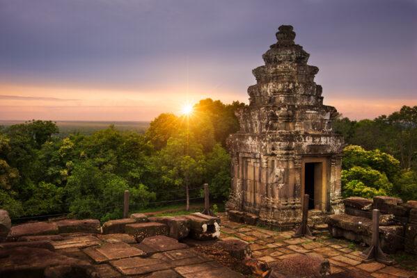 Kambodscha Phnom Bakheng Tempel