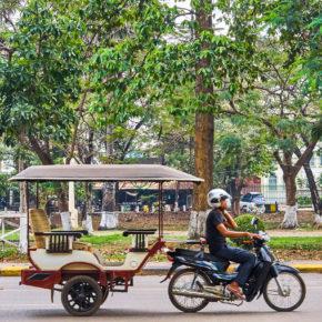 Kambodscha Siem Reap Tuk Tuk