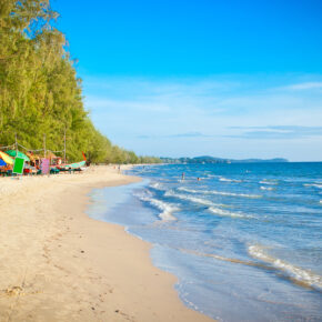 Kambodscha Sihanoukville Beach