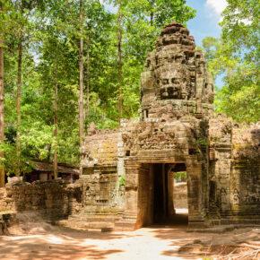 Kambodscha Ta Som Tempel