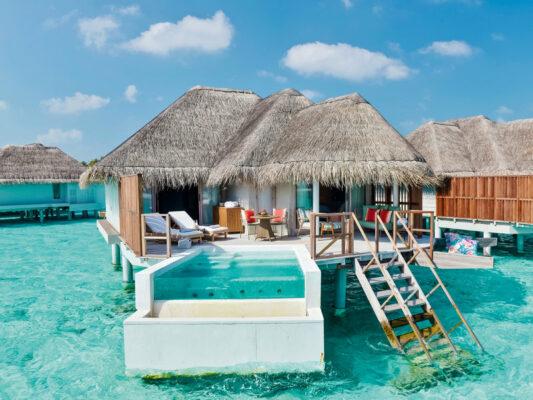 Kanuhura Maldives Wasservilla