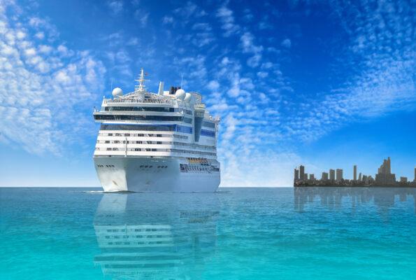 Kreuzfahrt Schiff Skyline