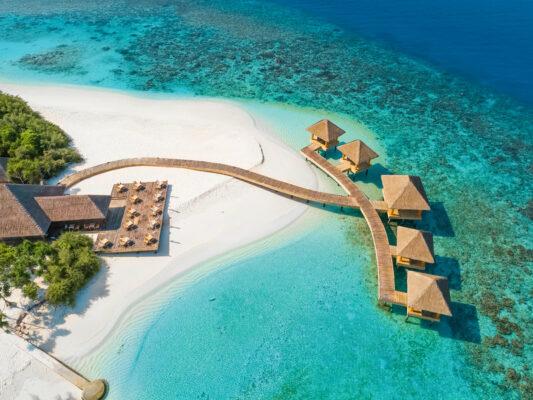 Luxusurlaub Malediven: Kudafushi Resort Insel