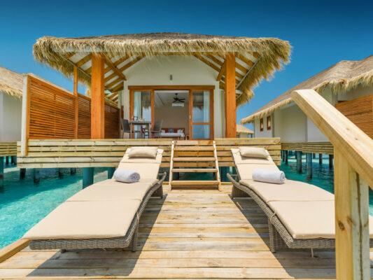 Kudafushi Resort Terrasse