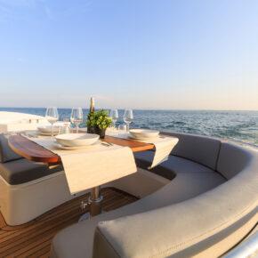 Luxus Kreuzfahrt Schiff Deck