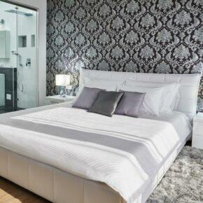 Luxus Villa Jursici Schlafzimmer