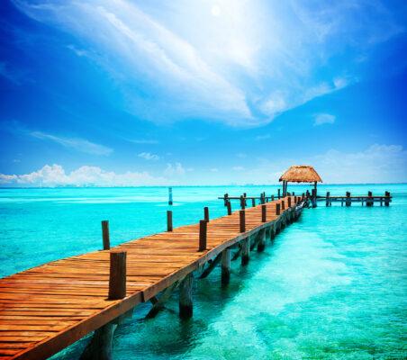 Mexiko Cancun Isla Mujeres Steg