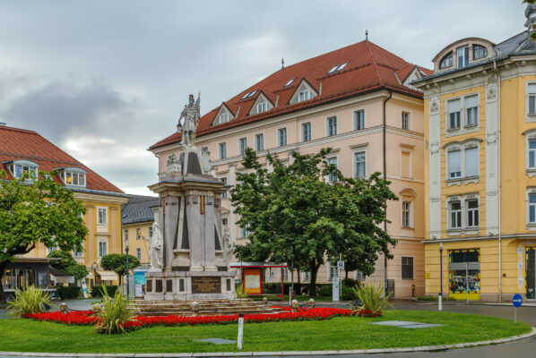 Österreich Klagenfurt Floriani Monument
