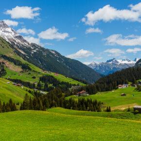 Österreich Vorarlberg Biberkopf
