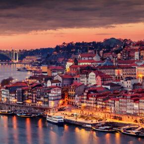 Wochenende in Porto: 3 Tage mit Hotel & Flug nur 43€