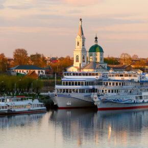 Russland Kreuzfahrt Schiff