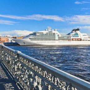 Russland St Petersburg Brücke Kreuzfahrt