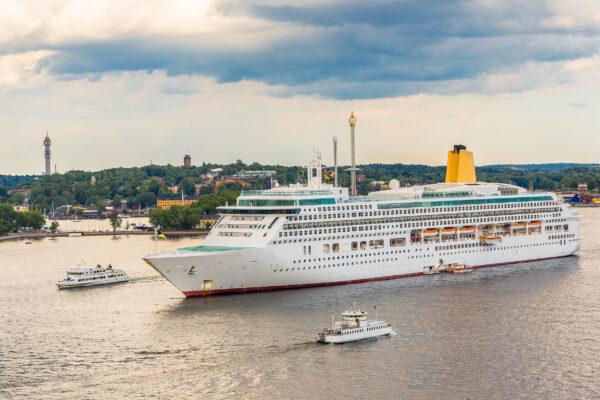 Schweden Stockholm Kreuzfahrt Schiff