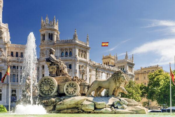 Spanien Madrid Cibeles