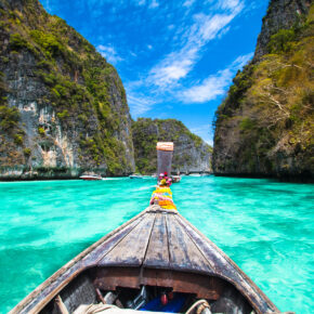 Thailand Koh Phi Phi Boot