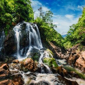 Vietnam Sapa Wasserfall