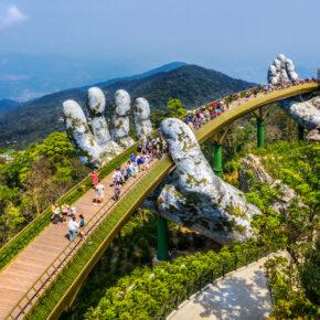 Vietnam Goldene Brücke