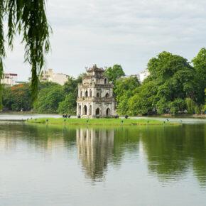 Vietnam Hanoi Hoan Kiem See