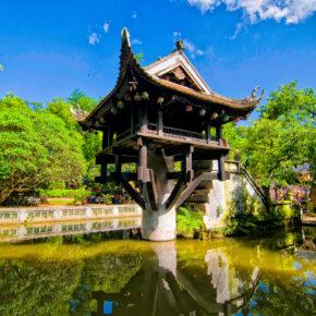 Vietnam Hanoi Pagoda