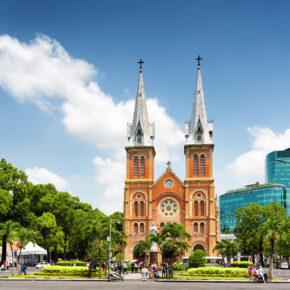 Vietnam Ho Chi Minh Stadt Basilika