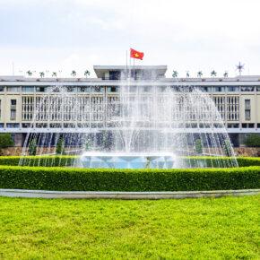 Vietnam Ho Chi Minh Stadt Independence Palace
