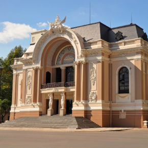 Vietnam Ho Chi Minh Stadt Opernhaus