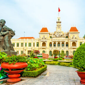 Vietnam Ho Chi Minh Stadt Rathaus