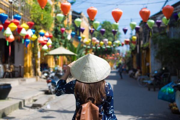 Vietnam Hoi An Touristin