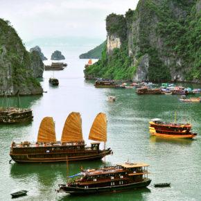 Vietnam Junk Boat
