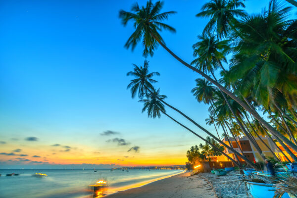 Vietnam Strand Sonnenuntergang