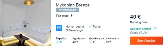 4 Tage Mykonos