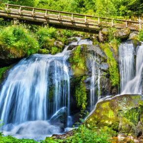 Deutschland Triberg Wasserfall
